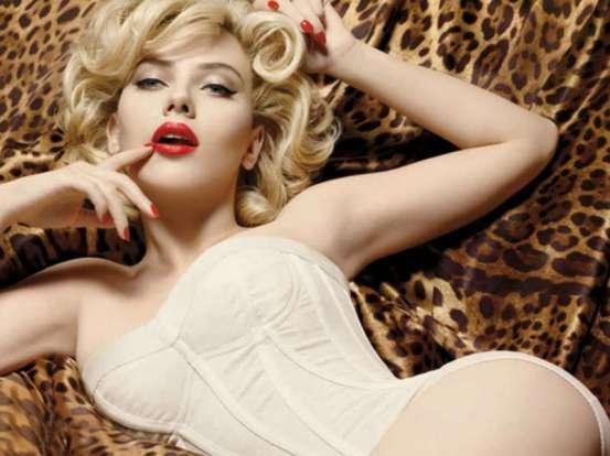 Scarlett Johansson for Dolce & Gabanna, 2012.